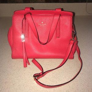 Vibrant Coral Kate Spade Bag
